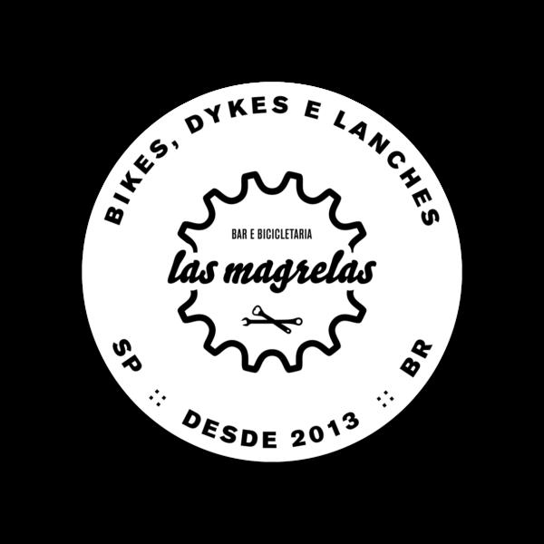 ades bdl branco 600x600 - Adesivo plastico Las Magrelas Bikes Dykes e Lanches