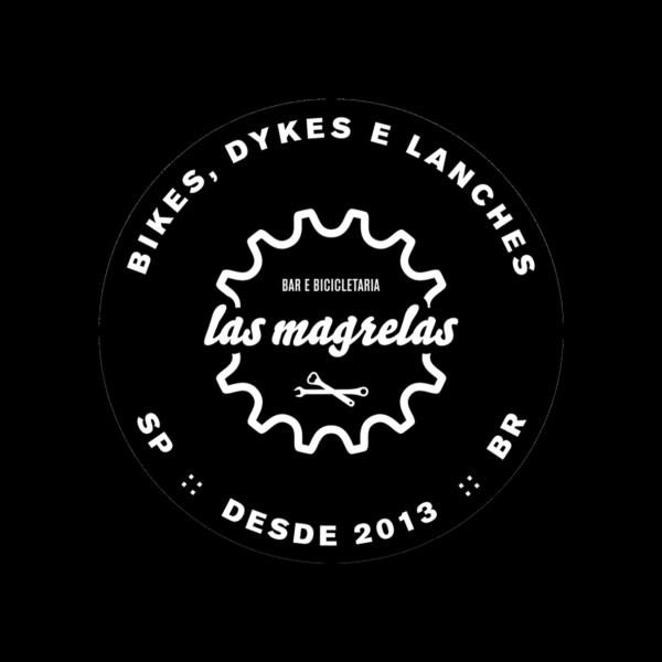 Adesivo Las Magrelas Bikes, Dykes e Lanches