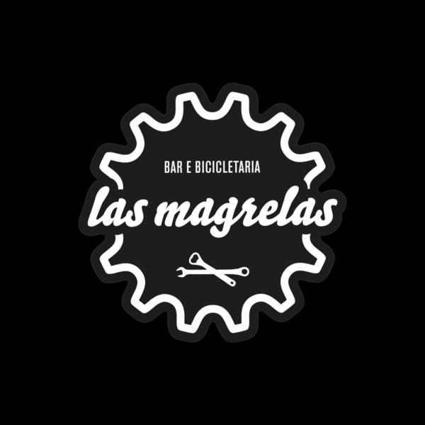 ades logo redondo preto 600x600 - Adesivo plastico Las Magrelas branco