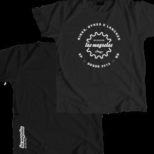 Camiseta em algodão Las Magrelas