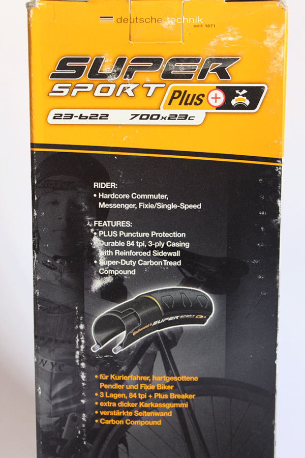 PneuSuperSportPlus700x23b 600x900 - Pneu Continental Super Sport Plus 700x23 Extra Tough Anti Puncture Belt