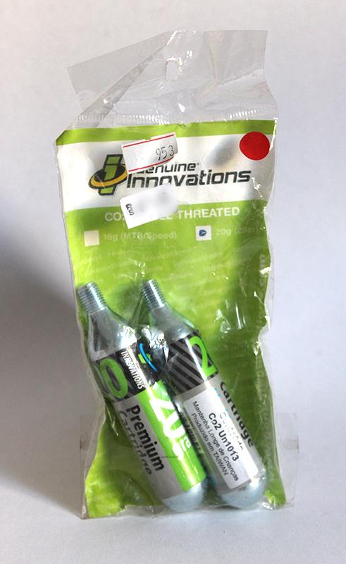 Capsulas CO2 com 20 gramas