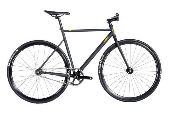 bike cr mo over 2020 preto fosco grafismo amarelo aros 30mm preto tam 545658 20200313145621 - Bicicleta RAF Lina Over CR-MO 2020