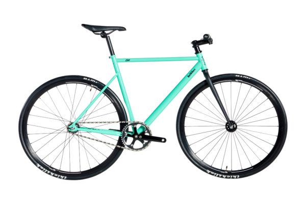 bike cr mo over 2020 verde turquesa aros 30mm preto tam 5458 20200313154012 - Bicicleta RAF Lina Over CR-MO 2020