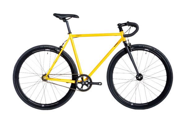 bike hi ten 2020 amarela fosca aros 40mm preto tam 485054565860 20200110124157 - Bicicleta RAF HI-TEN 2020