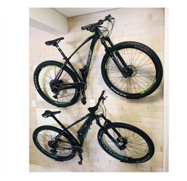parede 2 600x579 - Suporte para bicicleta 'Decora Bike' feito em aço