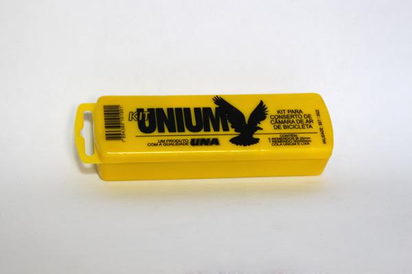 remendoUna1 600x400 - Kit de remendo Unium para câmara de ar de bicicleta