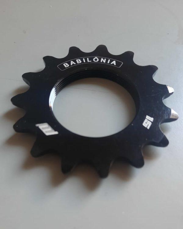 pinhão fixo 'Babilônia' 15 dentes