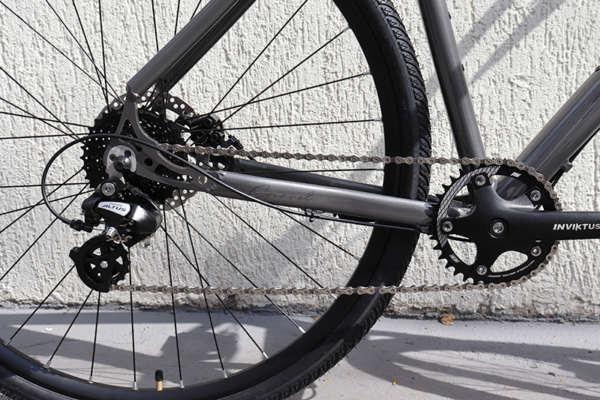 IMG 3091 600x400 - Bicicleta Gravel Show Bikes 8 velocidades completa