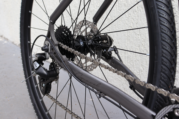 IMG 3108 600x400 - Bicicleta Gravel Show Bikes 8 velocidades completa