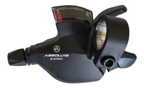 alavanca passador Absolute - Alavanca esquerda e cambio dianteiro Absolute Nero A5 2x9