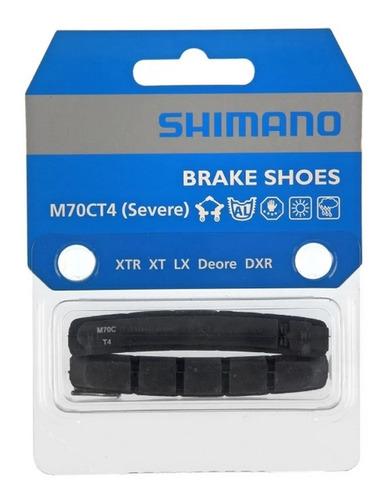 Refil sapata Shimano M70CT4