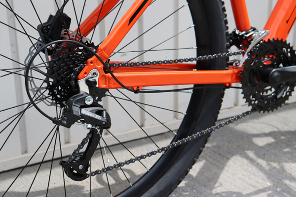 IMG 3587 600x400 - Bicicleta 'Satz' MTB aro 29 freio a disco hidráulico