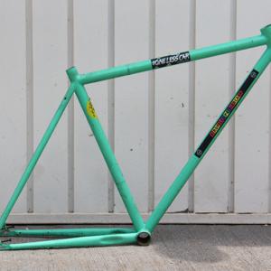 Quadro Raf Bikes aço Hi-Ten