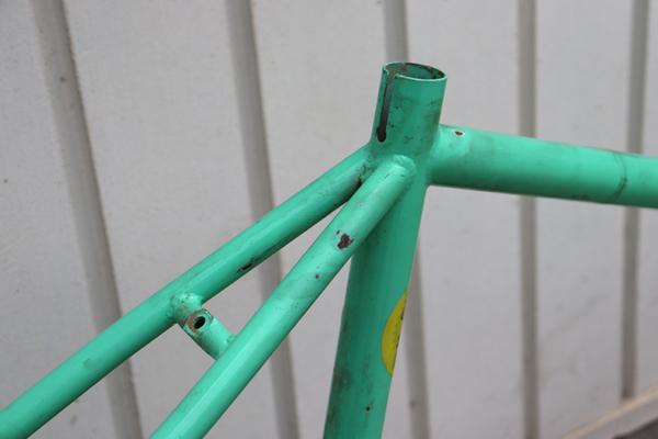 IMG 3610 600x400 - Quadro Raf Bikes aço Hi-Ten tamanho 50 (usado)